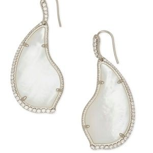 Kendra Scott Tinley Ivory Mother-of-Pearl Earrings